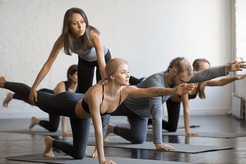 Clases de Pilates en grupo